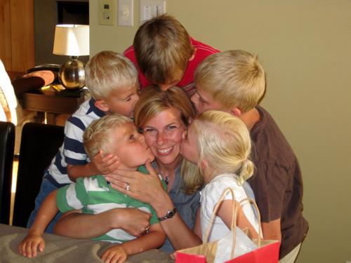 Saren Loosli and Family