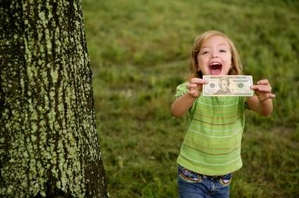 Little girl dollar