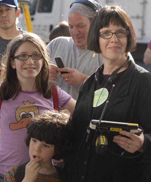 MOTHERHOOD Director Katherine Dieckmann with her real-life children, photo by JoJo Whilden
