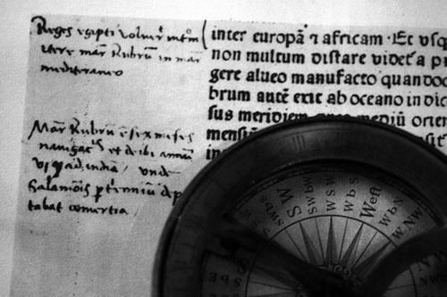 Columbus Writing