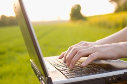 Computer writing