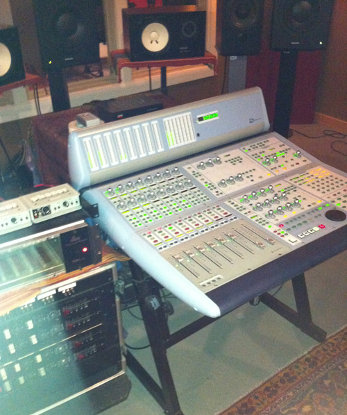 Sound board Mike Greene Studio