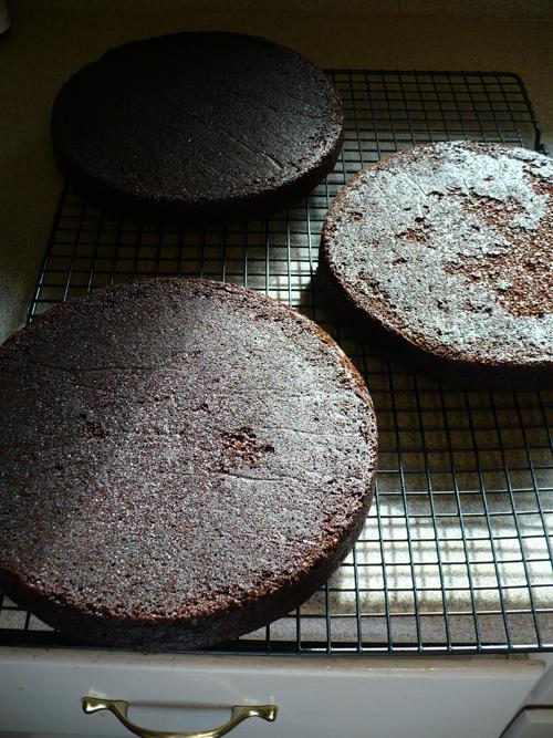 Jean Pace chocolate cake