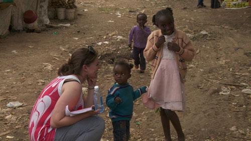 Kenya - Rachel and Kids